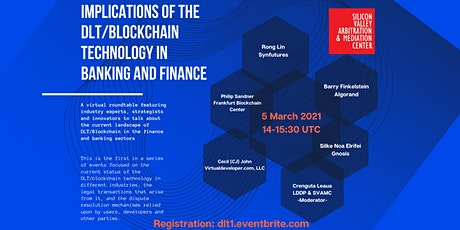 Implications of the DLT/Blockchain Technology in Banking and Finance tickets