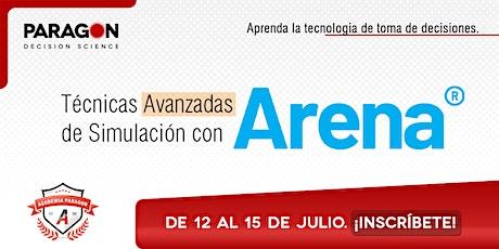 Entrenamiento Online: Técnicas Avanzadas de Simulación en Arena-12-15 Julio entradas