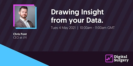 Digital Surgery: Drawing Insight From Your Data tickets