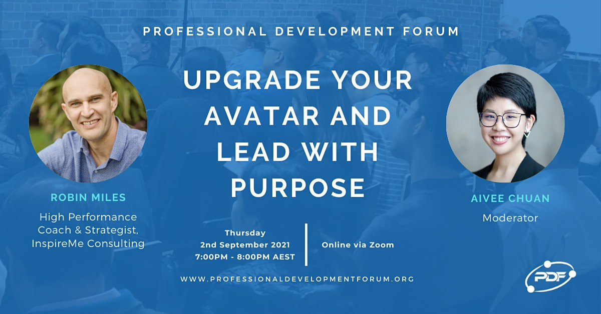 Upgrade Your Avatar and Lead With Purpose