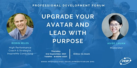 Upgrade Your Avatar and Lead With Purpose tickets