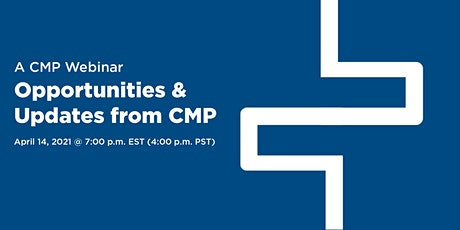 Opportunities and Updates from CMP tickets