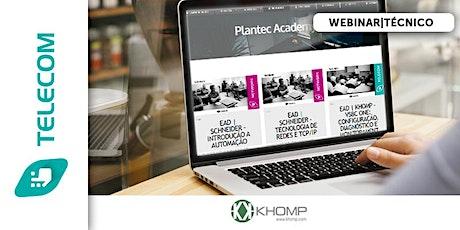 WEBNAR KHOMP - TREINAMENTO KMG ONE - BRASIL bilhetes