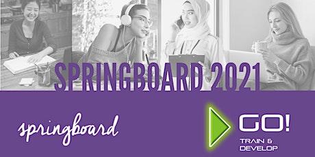 Springboard Women's Work and Personal Development Programme Online 2021 tickets