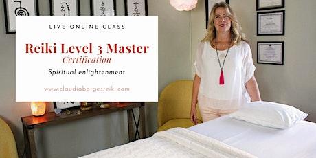 Reiki Level 3 Master Certification Class tickets