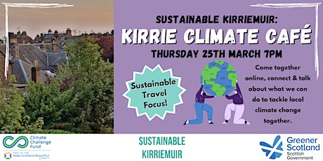 Kirrie Climate Café - Sustainable Travel tickets