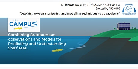 CAMPUS: Applying oxygen monitoring/modelling techniques to aquaculture tickets