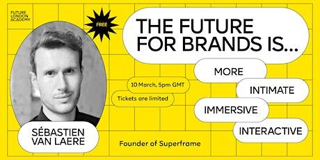 Top Trends Webinar  with Sébastien Van Laere, Founder of Superframe tickets