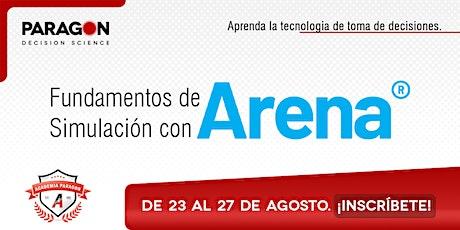 Entrenamiento Online Fundamentos de Simulación con Arena-23al 27 de Agosto entradas