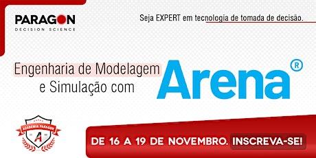 Treinamento Online: Eng. de Modelagem e Simulação em Arena - 16 a 19 de Nov ingressos