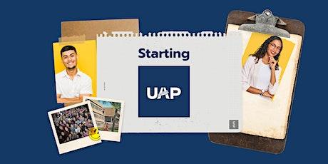 Starting UAP entradas