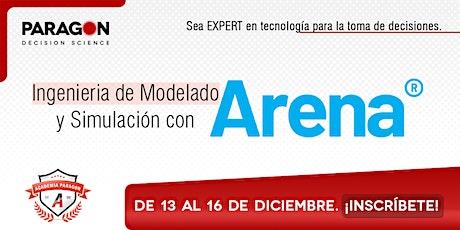 Entrenamiento Online: Ing. de Modelado y Simulación en Arena-13-16Diciembre boletos
