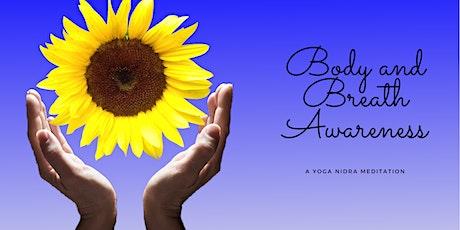 Meditation - Body and Breath Awareness tickets