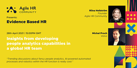 Insights from developing people analytics capabilities in a global HR team tickets