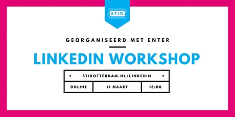 LinkedIn workshop 11 maart tickets