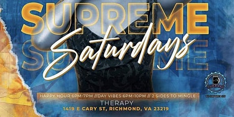 Supreme Saturdays At Therapy tickets