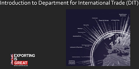 Introduction to Department for International Trade (DIT) tickets