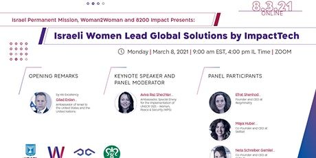 Israeli Women Lead Global Solutions by ImpactTech tickets