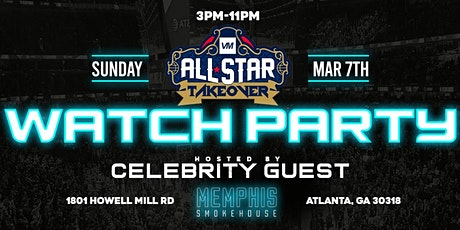 BASKETBALL GAME CELEBRITY WATCH PARTY AT SMOKE HOUSE ATLANTA tickets