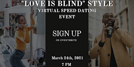 """""""Love Is Blind"""" Speed Dating Event Part4 (Christian Speed Dating) tickets"""