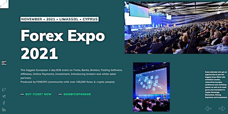 Forex Expo 2021 - B2B Event Cyprus tickets