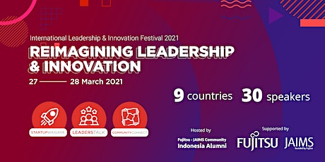 International Leadership and Innovation Festival 2021 tickets