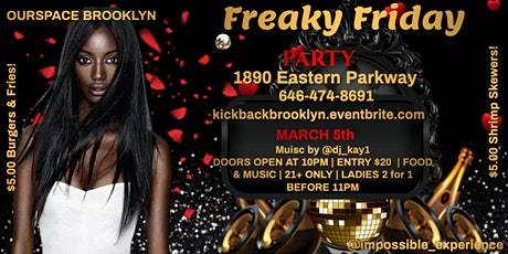 Freaky Friday Dance Party tickets