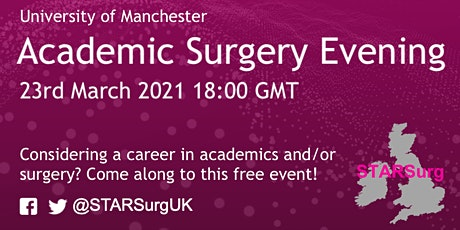 University of Manchester's Academic Surgery Evening tickets