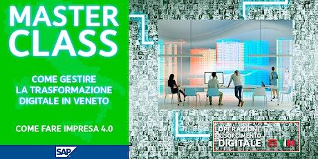 Come gestire la trasformazione digitale in Veneto - Come fare Impresa 4.0 biglietti