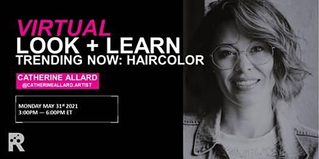REDKEN CANADA - TRENDING NOW: HAIRCOLOR WITH CATHERINE ALLARD tickets