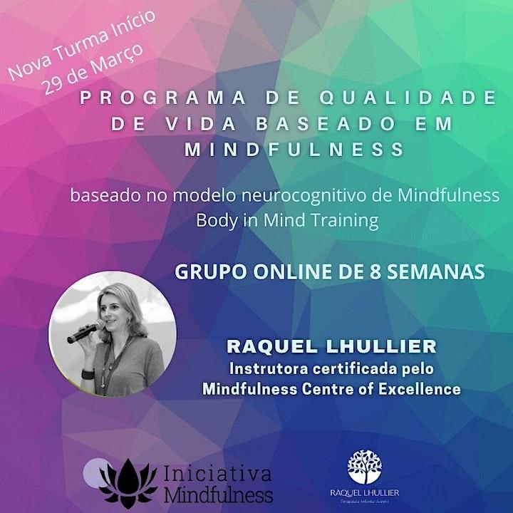 Imagem do evento Programa de qualidade de vida baseado em Mindfulness