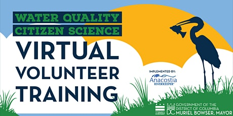 DC Citizen Science: 2021 Virtual Water Quality Monitoring Training tickets