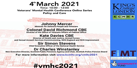 Veterans' Mental Health Conference - Policy and Care tickets