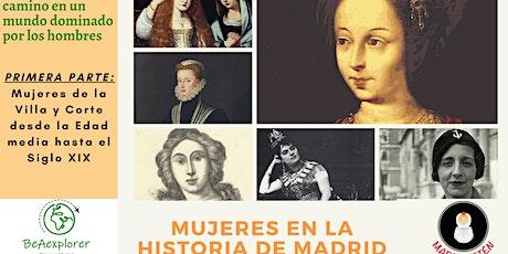Mujeres en la Historia de Madrid - Especial Dia de la Mujer entradas