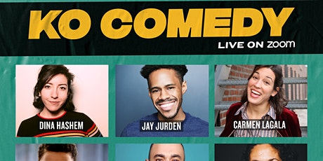 KO Comedy Live on Zoom: Saturday, March 6th, 2021 tickets