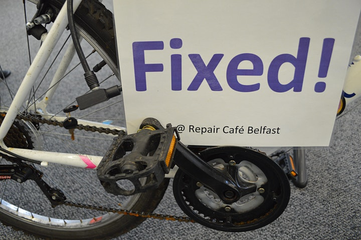 Basic bike maintenance with Repair Cafe Belfast image