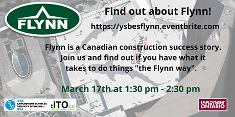 Find out about Flynn Information Session tickets