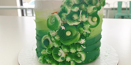Cake & Sip!  Green Ombre Cake Decorating tickets