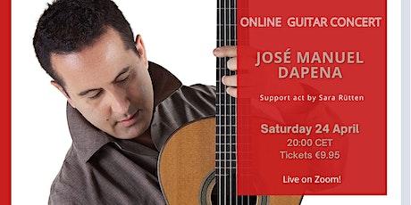 CONCERT José Manuel Dapena - Sara Rütten (support act) tickets