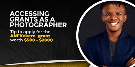 Accessing grants as a Photographer tickets