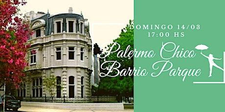 """Palermo """"Chico"""" - Barrio Parque entradas"""