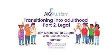Transitioning into Adulthood with Sean Kennedy, Barrister tickets
