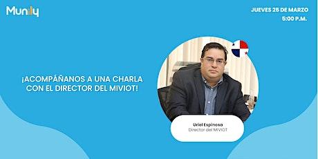 Webinar con el director del Miviot Uriel Espinosa entradas
