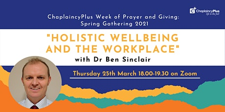 Spring Gathering - 'Holistic Wellbeing and the Workplace'. tickets