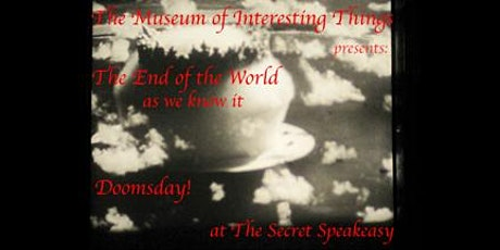 Doomsday / Space Race Secret Speakeasy FRIDAY March 26th 7PM tickets