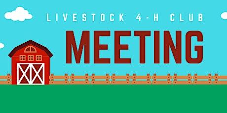 04/12/21 Livestock 4-H Club tickets