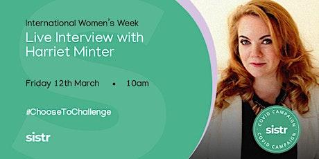 Harriet Minter - sistr IWW Inspiration Series tickets
