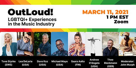OutLoud! LGBTQI+ Experiences in the Music Industry tickets