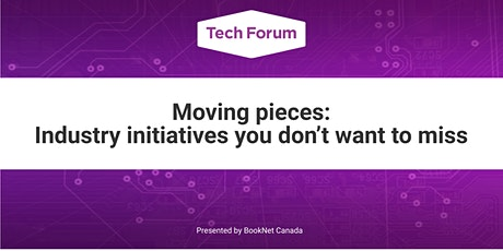 Moving pieces: Industry initiatives you don't want to miss tickets