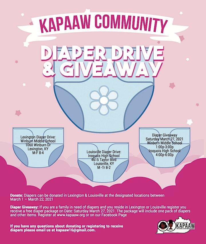 Lexington Diaper Giveaway! image